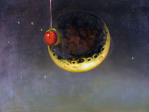 MA_Apple Of Our Eye: Oil on Canvas 25x33