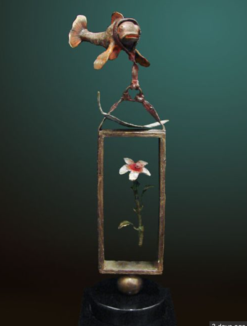 MS-Balance Of Love Limited Edition Bronze Sculpture