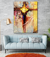 EA_Citadel 30x40 Elemental Abstract Canvas Art Print