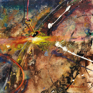 "EA_Controlled Chaos ""12x12"" Original-SOLD"