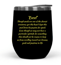 """Excel"" 12oz Travel Tumbler_MA"