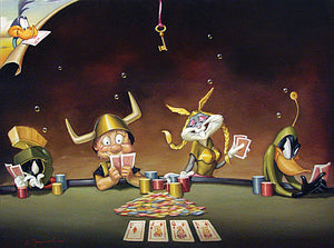 LT-High Stakes 30x40 Oil on Canvas
