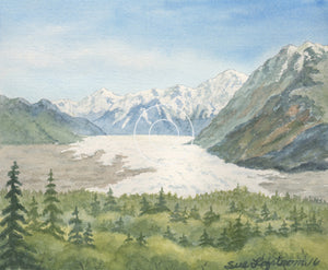 "Sue Lofstrom- ""Colony Glacier- places"
