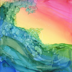 "Jana Latham- ""Dawn Wave""- water"