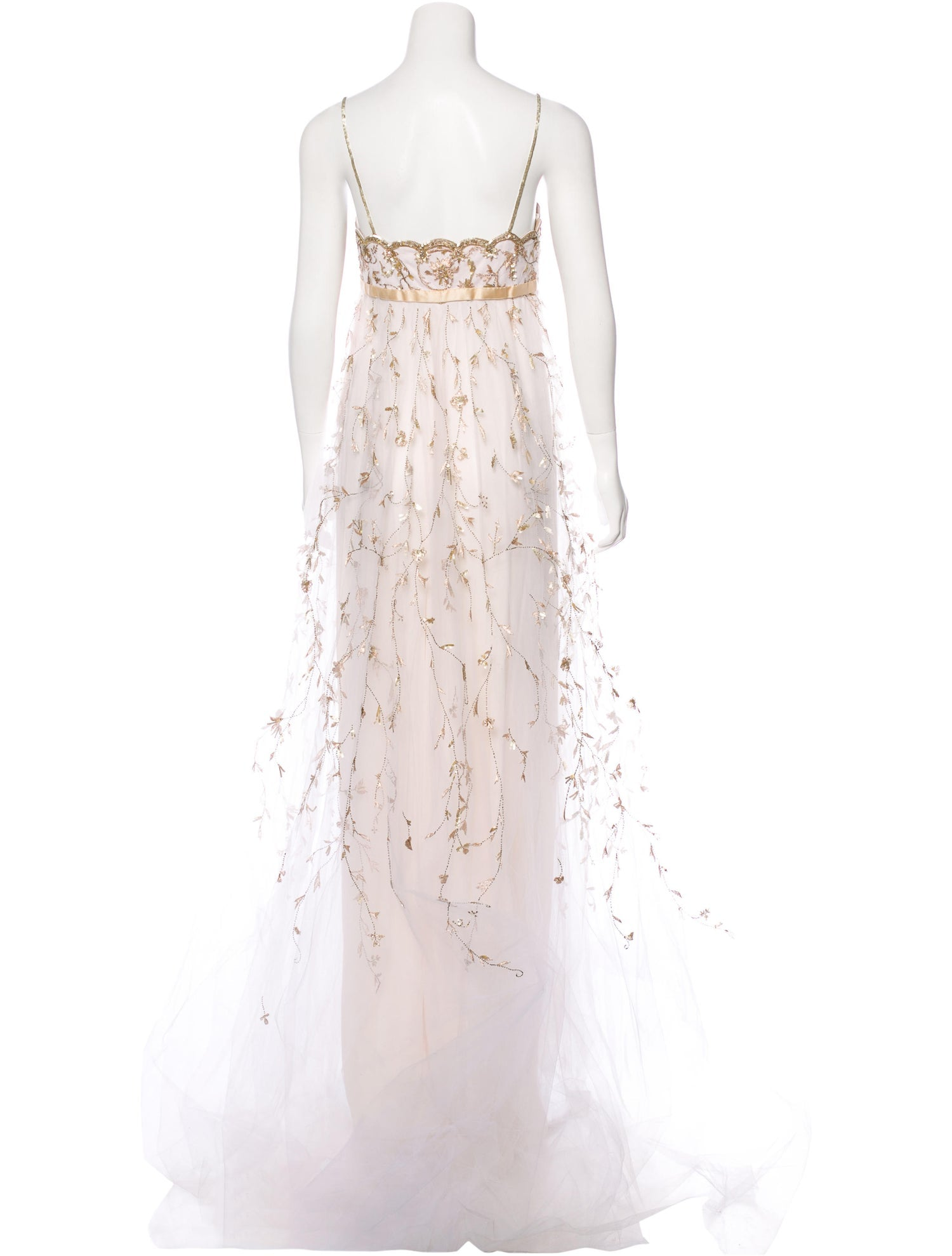 Empire Embellished Gown