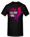 """KenBarbie is My Spirit Animal"" T-Shirt (Black)"