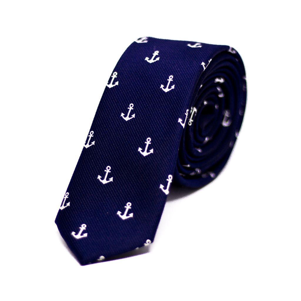 Navy Anchor (Slim)