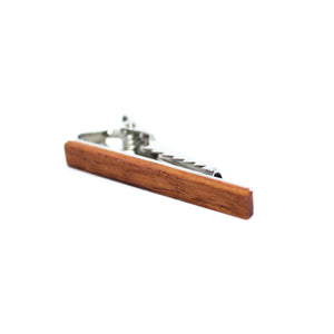 Tan Wooden Tie Bar