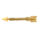 Golden Arrow Tie Clip