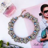 Multi Color Royal Statement Necklace - BellaSmyle
