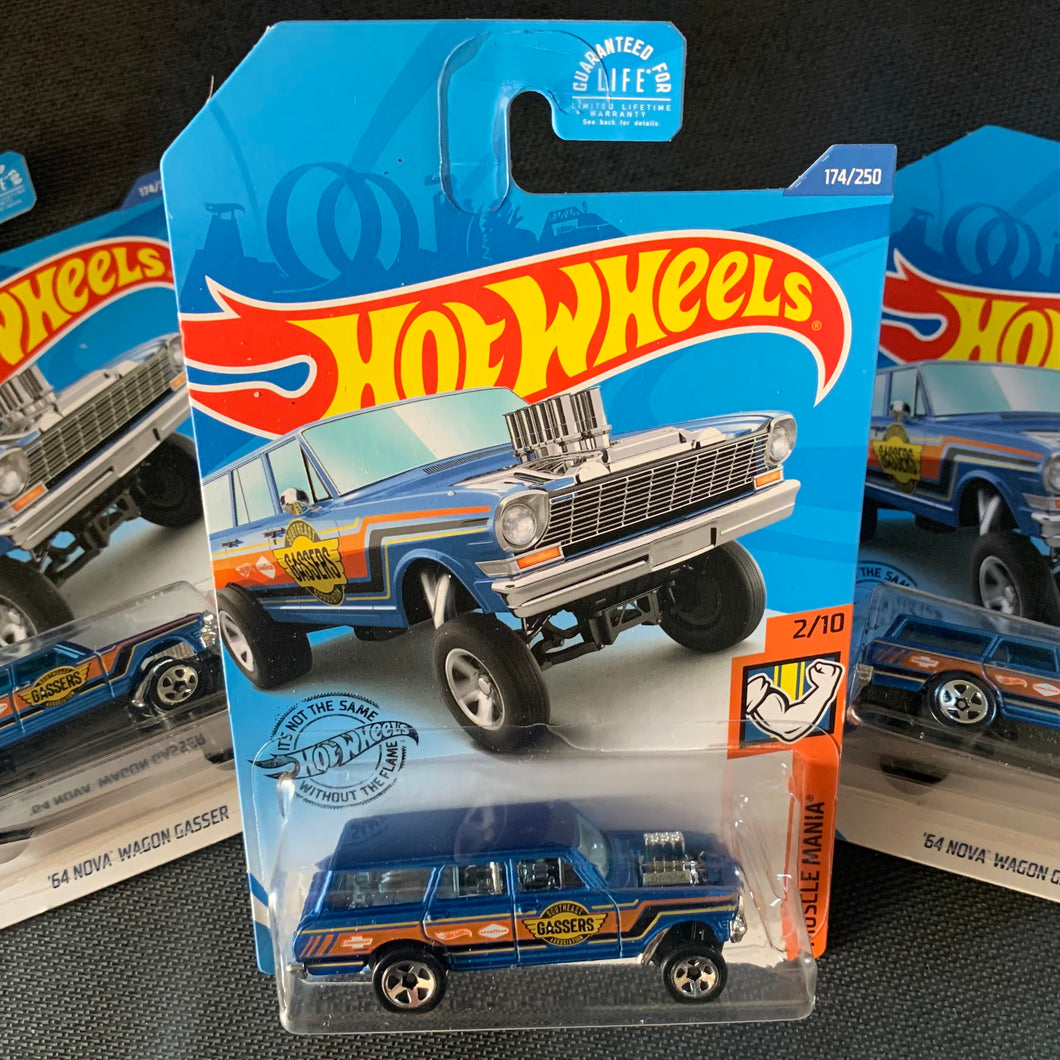 "The Hot Wheels Walgreen's ""EXCLUSIVE"" Blue Wagon"