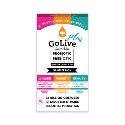 Trial Pack - Whole Foods Market Exclusive Functional Plus Items - GoLive® Products