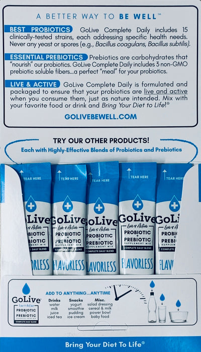 Flavorless 5-Pack - GoLive® Products