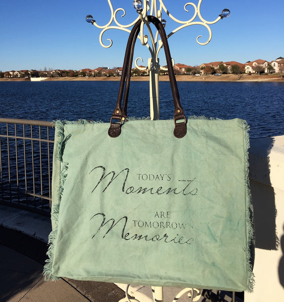Canvas Market Tote - Today's Moments