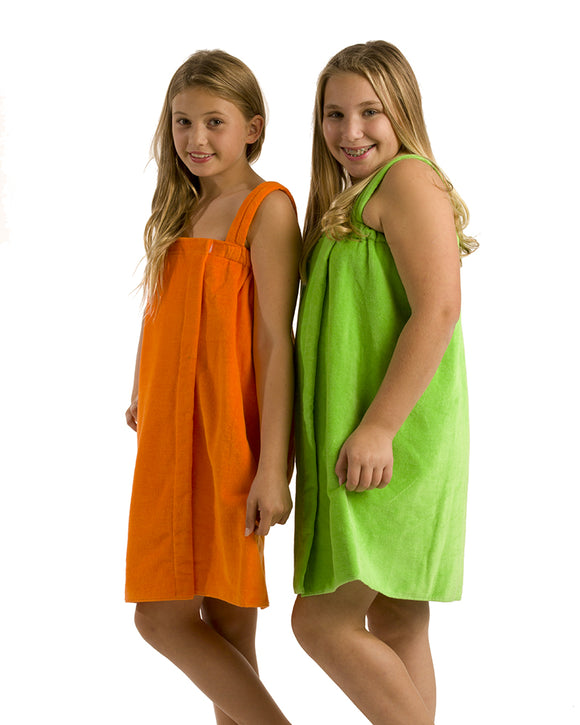 girls cover up bath towels, spa wraps