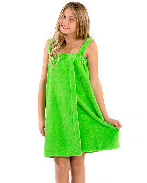 Terry Bamboo Girls Spa Wrap Towels