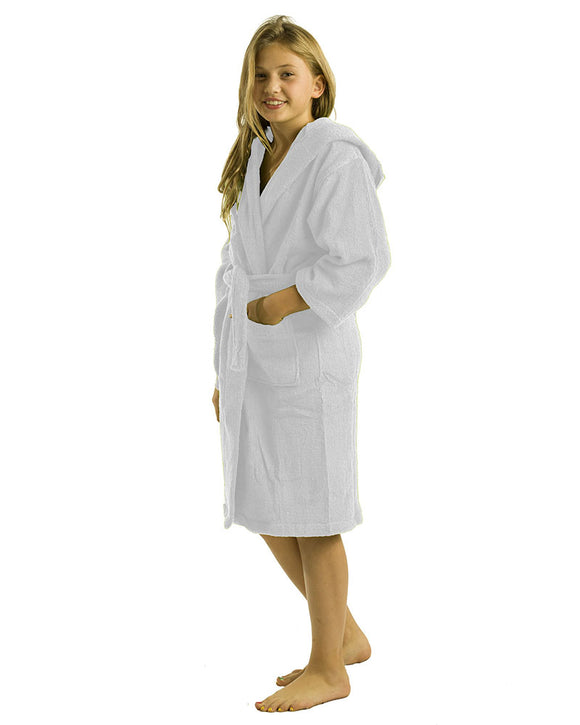 Brushed Bamboo Kids Bathrobes