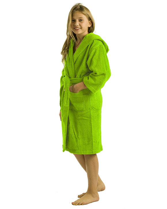 Hooded Kids Bamboo Bathrobes