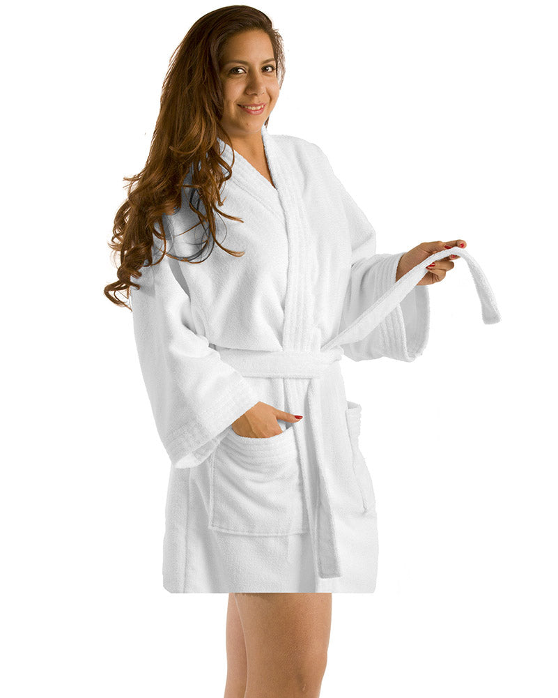 034a35469c Microfiber Thigh Length Kimono Women s Robes – TowelsPro