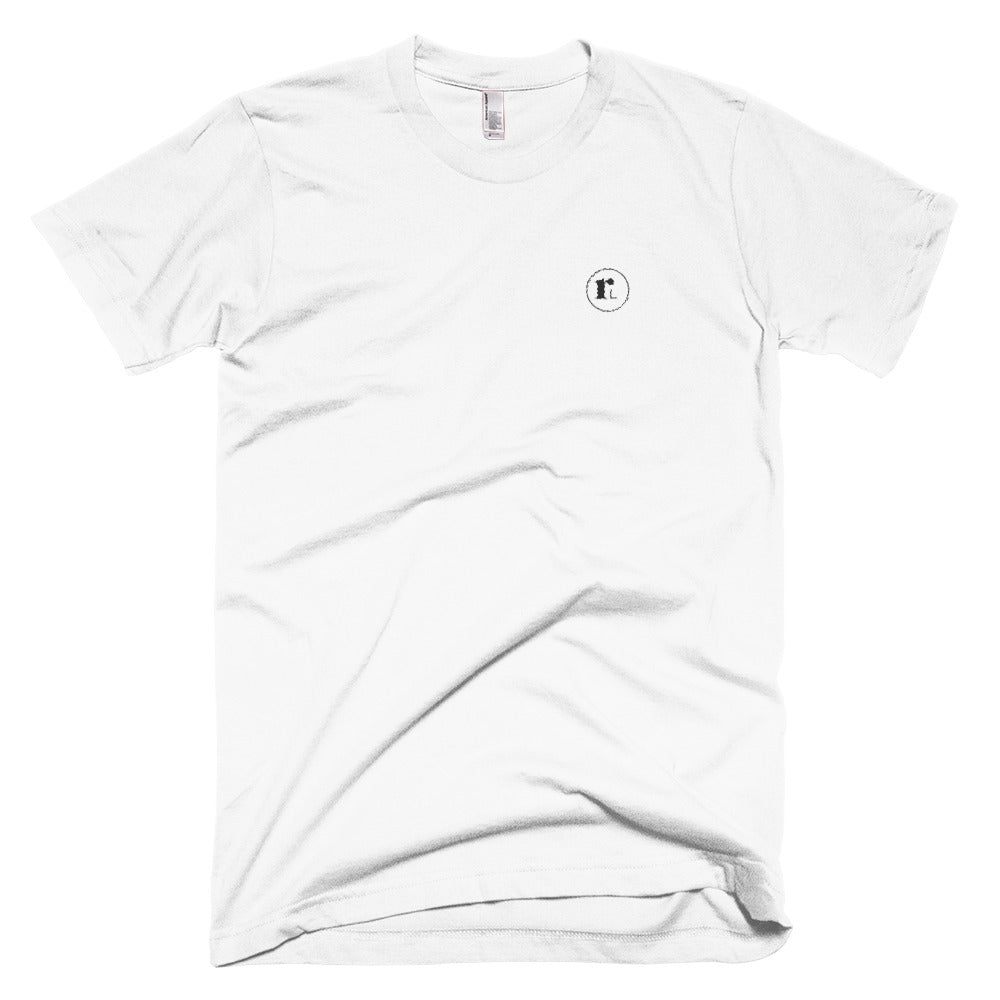 RL Embroidered Tee | White