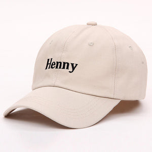 Beige Henny Dad Hat