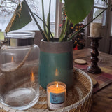 Eucalyptus and sage soy wax candle made in Ottawa Canada