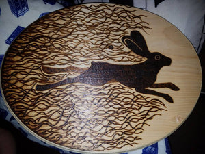 Watership Down Pyrography - Odin's Eye Art, Pyrography - woodburning, Odin's Eye Art - Odin's Eye Art
