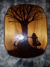 Little Red - Odin's Eye Art,  - woodburning, Odin's Eye Art - Odin's Eye Art