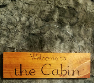 Welcome to the cabin - Odin's Eye Art,  - woodburning, Odin's Eye Art - Odin's Eye Art