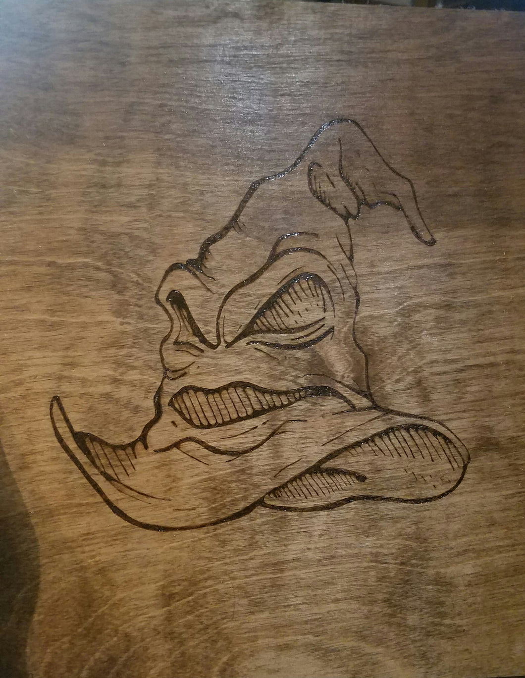 The sorting hat - Odin's Eye Art,  - woodburning, Odin's Eye Art - Odin's Eye Art
