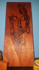Buddha - Odin's Eye Art, Pyrography - woodburning, Odin's Eye Art - Odin's Eye Art