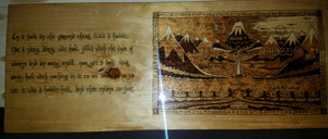 The Hobbit book cover - Odin's Eye Art,  - woodburning, Odin's Eye Art - Odin's Eye Art