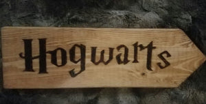 Hogwarts - Odin's Eye Art,  - woodburning, Odin's Eye Art - Odin's Eye Art