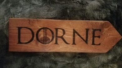 Dorne - Odin's Eye Art, Pyrography - woodburning, Odin's Eye Art - Odin's Eye Art