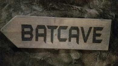 Batcave - Odin's Eye Art, Pyrography - woodburning, Odin's Eye Art - Odin's Eye Art