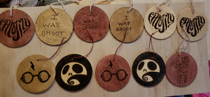 Ornaments - Odin's Eye Art,  - woodburning, Odin's Eye Art - Odin's Eye Art