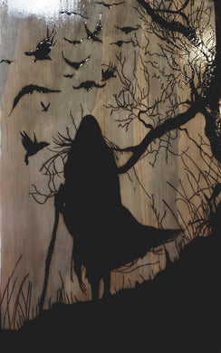 Odin and his ravens - Odin's Eye Art, Pyrography - woodburning, Odins Eye Art - Odin's Eye Art