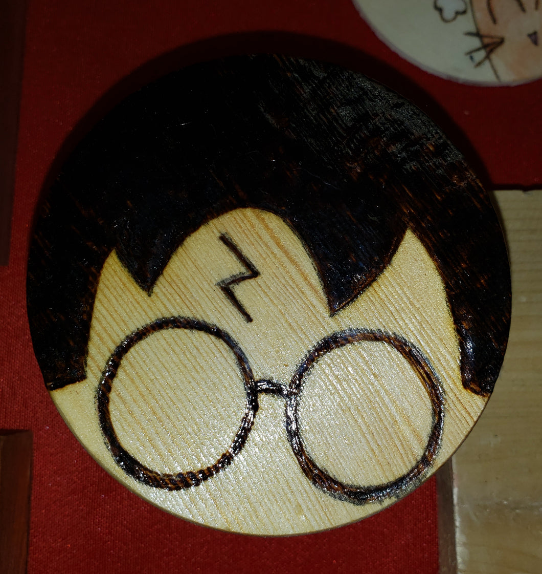 Harry Potter box - Odin's Eye Art,  - woodburning, Odin's Eye Art - Odin's Eye Art