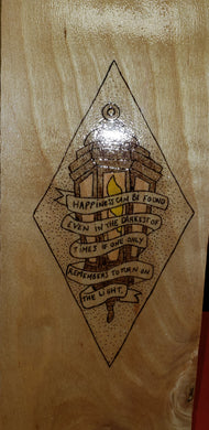 Turn on the light - Odin's Eye Art,  - woodburning, Odin's Eye Art - Odin's Eye Art