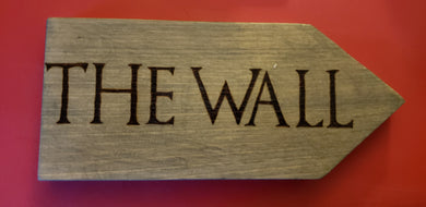 The Wall sign