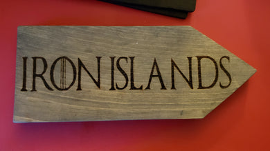 Iron Islands sign