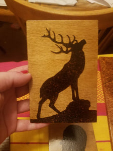 Elk - Odin's Eye Art, Pyrography - woodburning, Odin's Eye Art - Odin's Eye Art