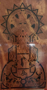 Odin - Odin's Eye Art,  - woodburning, Odins Eye Art - Odin's Eye Art