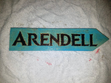 Arendell sign - Odin's Eye Art, Pyrography - woodburning, Odin's Eye Art - Odin's Eye Art