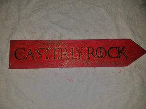 Casterly Rock sign - Odin's Eye Art, Pyrography - woodburning, Odin's Eye Art - Odin's Eye Art
