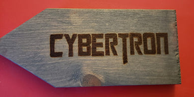 Cybertron sign
