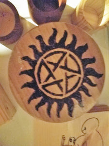Supernatural box - Odin's Eye Art, Pyrography - woodburning, Odin's Eye Art - Odin's Eye Art