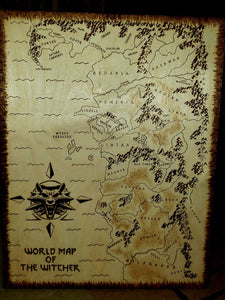 Map of The Witcher