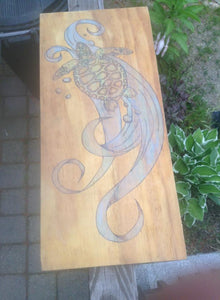 Turtle - Odin's Eye Art, Pyrography - woodburning, Odin's Eye Art - Odin's Eye Art
