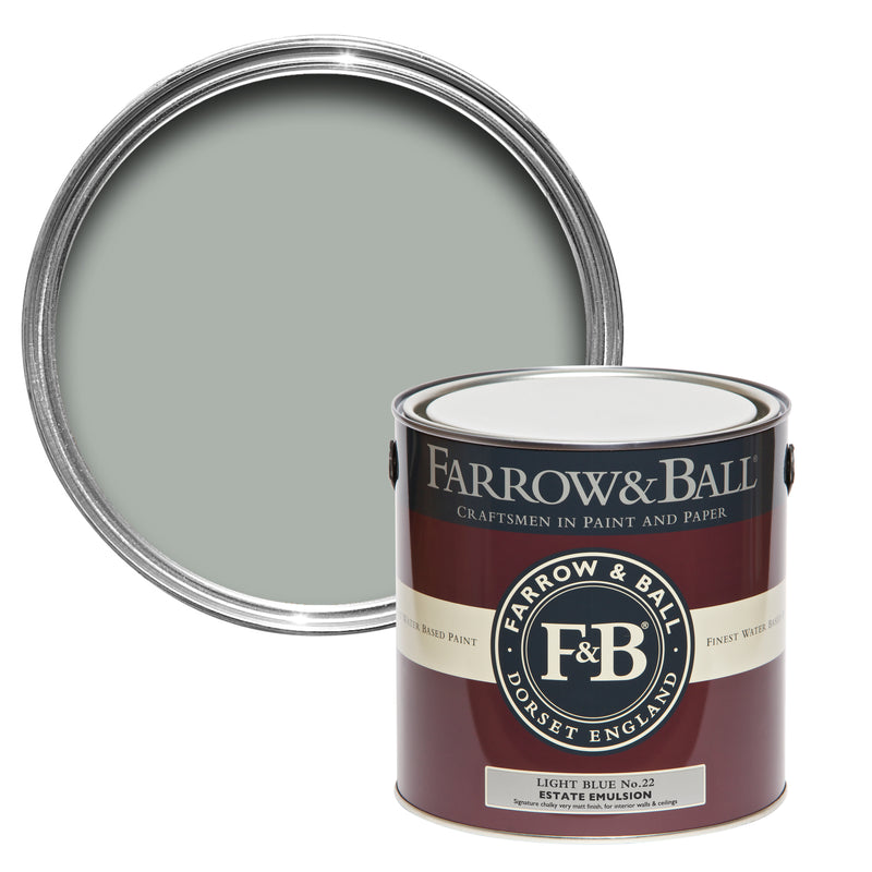 Farrow And Ball Light Blue.Farrow Ball Light Blue No 22